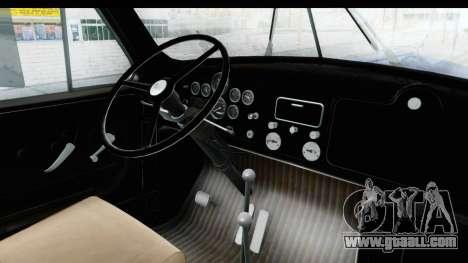 Mack B-61 1953 for GTA San Andreas inner view
