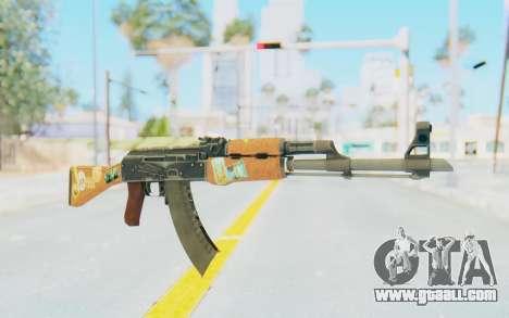 CS:GO - AK-47 Jetset for GTA San Andreas