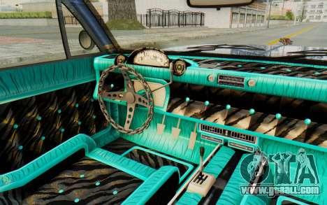 GTA 5 Declasse Voodoo Alternative v2 PJ for GTA San Andreas inner view