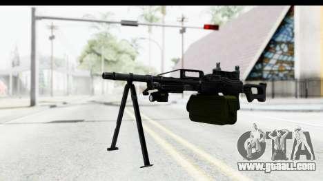 Kalashnikov PK (PKM) Iron Sights for GTA San Andreas second screenshot