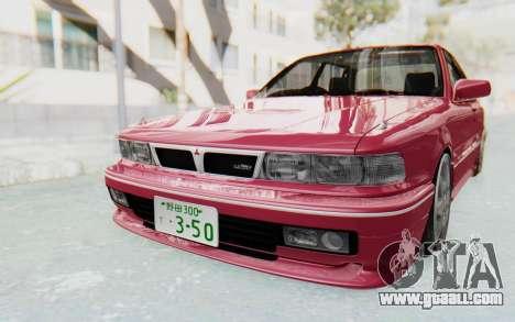 Mitsubishi Galant VR4 1992 for GTA San Andreas right view