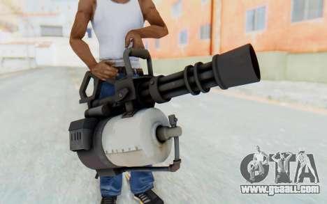 Minigun from TF2 for GTA San Andreas
