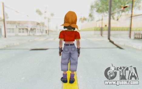 Dragon Ball Xenoverse Pan SJ for GTA San Andreas third screenshot