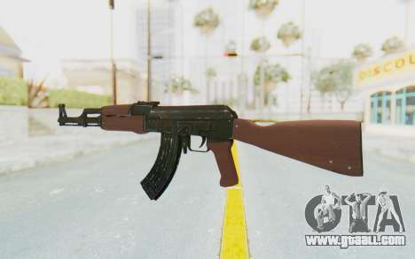 Assault AK-47 for GTA San Andreas second screenshot