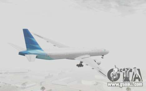 Boeing 777-300ER Garuda Indonesia for GTA San Andreas right view