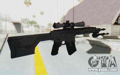 CoD: MW3 - Remington RSASS for GTA San Andreas third screenshot