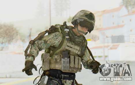 CoD AW US Marine Assault v4 Head D for GTA San Andreas