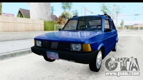 Fiat 147 Spazio TR Stock for GTA San Andreas back left view