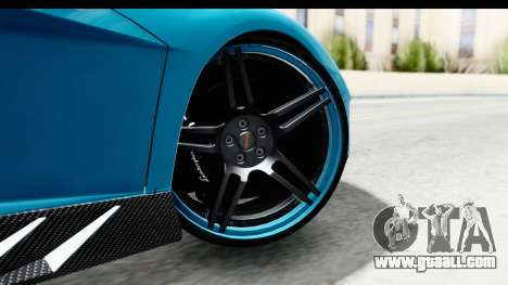 Lamborghini Aventador LP700-4 Novitec Torado for GTA San Andreas back left view