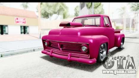 GTA 5 Vapid Slamvan Custom IVF for GTA San Andreas
