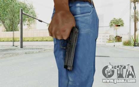 Tariq Iraqi Pistol Back v1 Black for GTA San Andreas third screenshot