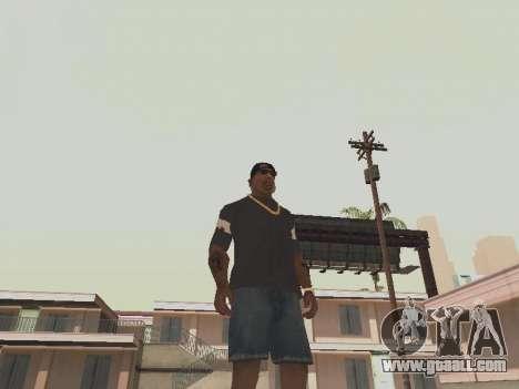 T-shirt I am the BATMAN for GTA San Andreas second screenshot