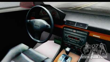 Audi A6 C5 Avant Sommerzeit for GTA San Andreas inner view