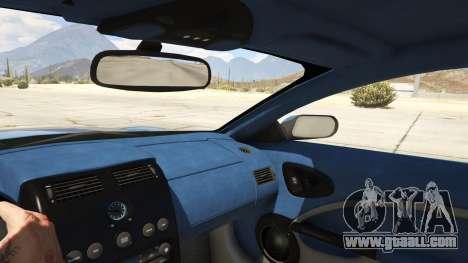 GTA 5 2001 Aston Martin V12 Vanquish right side view
