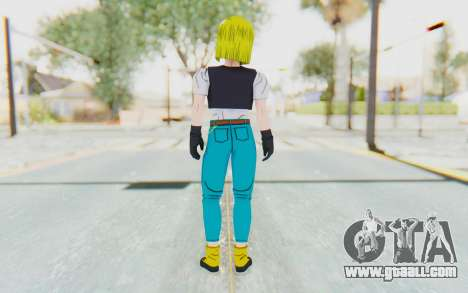 Dragon Ball Xenoverse Android 18 Cell Tournament for GTA San Andreas third screenshot