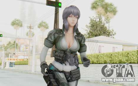 Ghost In The Shell First Assautl Motoko v2 for GTA San Andreas