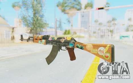 CS:GO - AK-47 Jetset for GTA San Andreas second screenshot