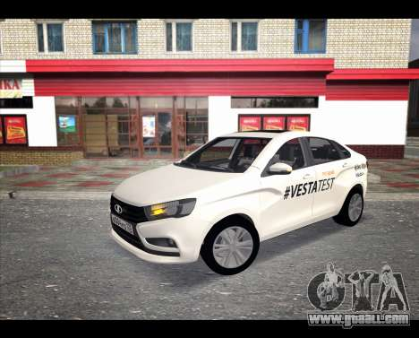 Lada Vesta VESTATEST for GTA San Andreas