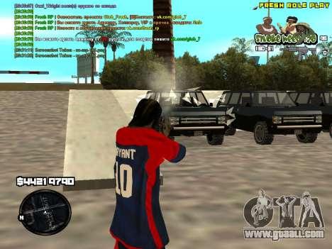 C-HUD Smoke Weed 420 for GTA San Andreas third screenshot
