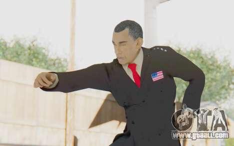 Barack Obama Skin for GTA San Andreas