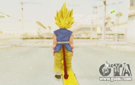 Dragon Ball Xenoverse Goku Kid GT SSJ for GTA San Andreas third screenshot