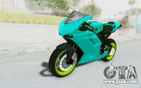 Ducati 1098R Streetrace for GTA San Andreas