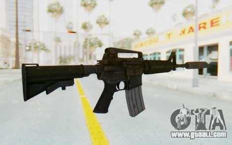 Assault M4A1 Silenced for GTA San Andreas