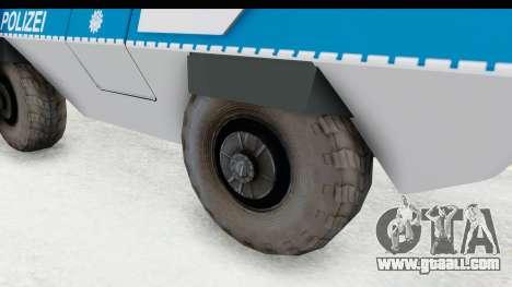 Hermelin TM170 Polizei for GTA San Andreas back view