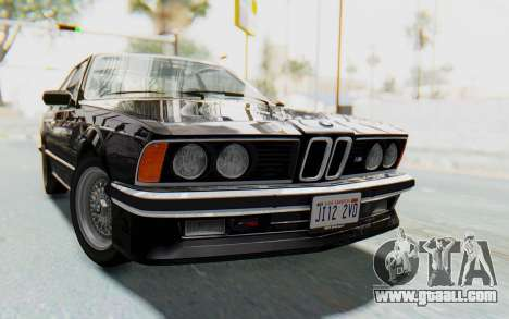 BMW M635 CSi (E24) 1984 HQLM PJ3 for GTA San Andreas