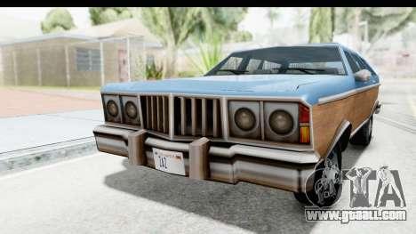 Pontiac Bonneville Safari from Bully for GTA San Andreas right view