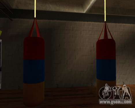 Pear Boxing style of the Armenian flag for GTA San Andreas third screenshot