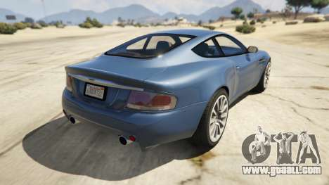2001 Aston Martin V12 Vanquish for GTA 5