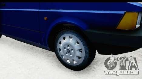 Fiat 147 Spazio TR Stock for GTA San Andreas back view