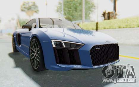 Audi R8 2017 for GTA San Andreas right view