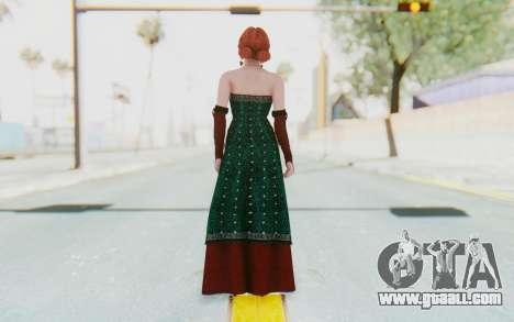 The Witcher 3 - Triss Merigold Dress for GTA San Andreas third screenshot