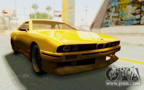 Elegy E30 for GTA San Andreas back view