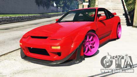 Nissan 180SX Type-X v1.0 for GTA 5