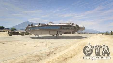 GTA 5 Star Wars Millenium Falcon 5.0 fourth screenshot