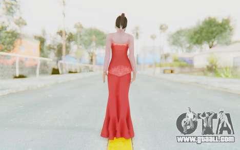 Linda Meilinda Kebaya Lady In Red for GTA San Andreas third screenshot