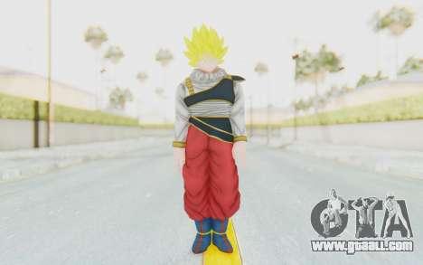 Dragon Ball Xenoverse Goku Yardrat Clothes SSJ for GTA San Andreas second screenshot