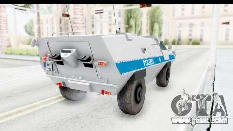 Hermelin TM170 Polizei for GTA San Andreas
