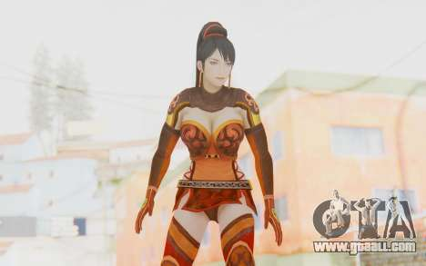 Dynasty Warriors 7 - Lian Shi v1 for GTA San Andreas