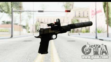 FarCry 3 - Colt 1911 Silenced for GTA San Andreas third screenshot