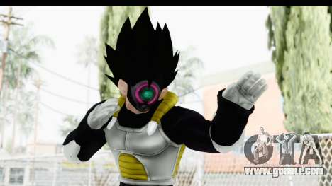 Dragon Ball Xenoverse Vegeta Timebreaker for GTA San Andreas