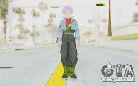 Trunks Del Futuro v1 for GTA San Andreas second screenshot