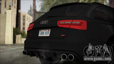 Audi S6 for GTA San Andreas back view