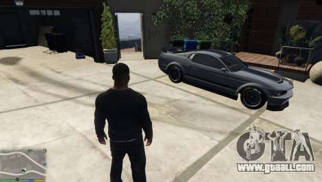 GTA 5 Change personal transport characters
