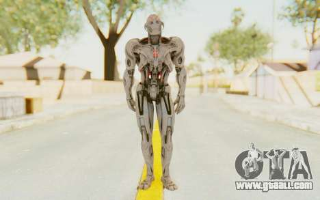 Marvel Heroes - Ultron Prime (AOU) for GTA San Andreas second screenshot