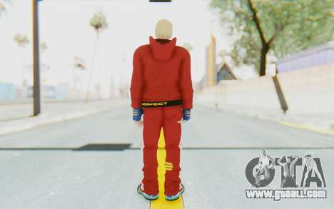 Slim Bob Skin for GTA San Andreas third screenshot