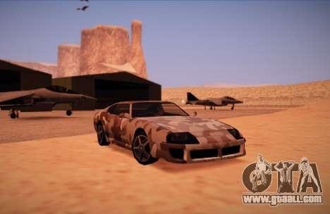 Camo. for GTA San Andreas